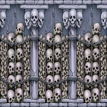 Imagen de Fondo pared catacumba esqueletos