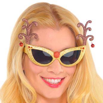 Imagens de Gafas reno purpurina