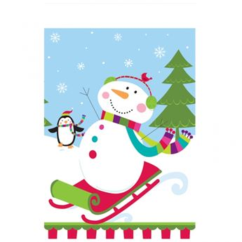 Imagen de Mantel muñeco de nieve