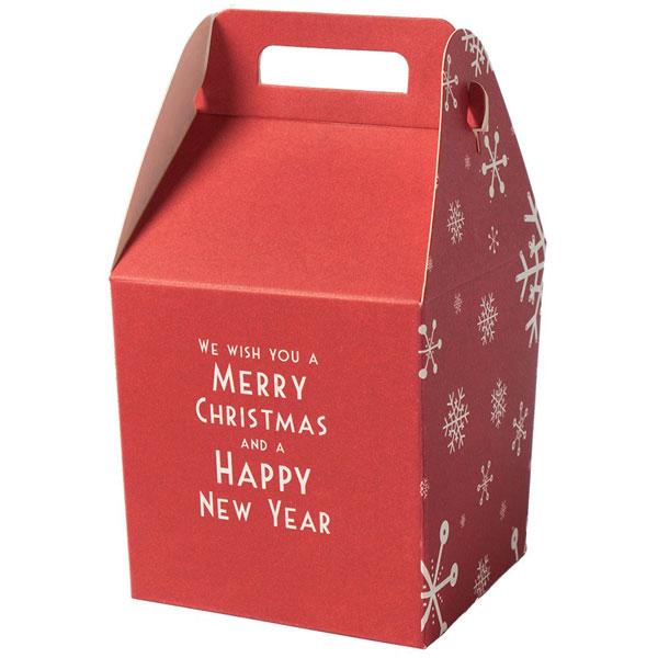 Comprar caja regalo feliz navidad online al mejor precio - Cajas de carton de navidad ...