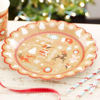 Imagen de Platos Navidad vintage (8)
