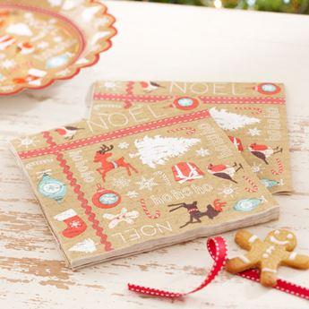 Imagen de Servilletas Navidad Vintage (20)