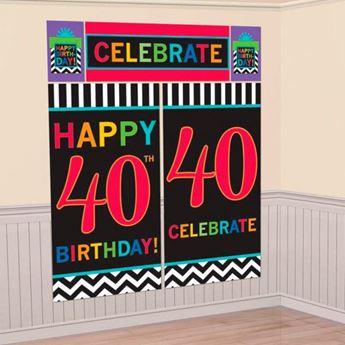 Imagen de Decorados pared 40 años chevron (5)