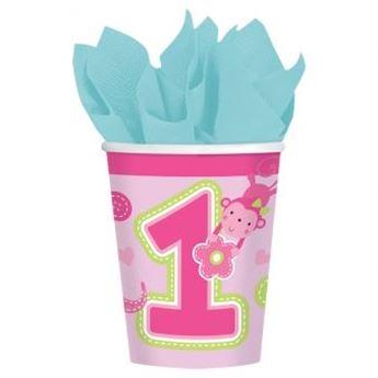 Imagens de Vasos primer cumple animales rosa(8)
