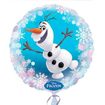 Picture of Globo círculo Frozen Olaf