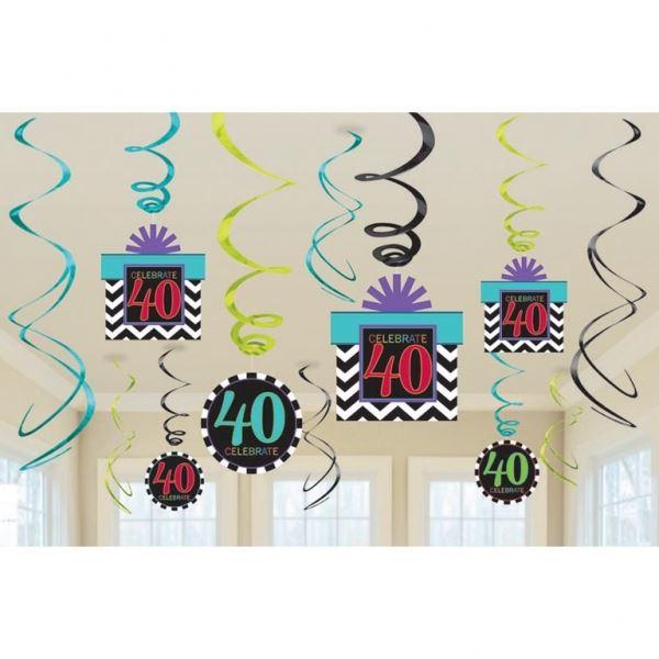 imagen de decorados espirales aos chevron