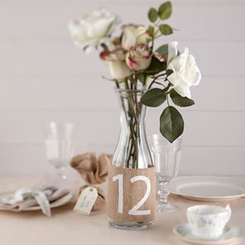 Imagen de Números para mesa yute