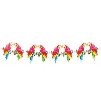 Imagens de Banderín pájaros tropicales 3mts