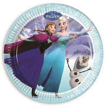 Imagen de Platos Frozen edición exclusiva grandes (8)