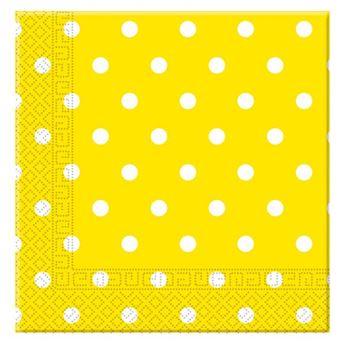 Imagens de Servilletas amarillas lunares (20)