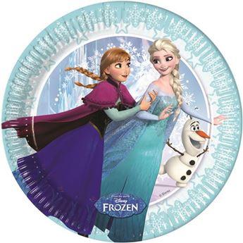 Imagen de Platos Frozen edición exclusiva pequeños (8)