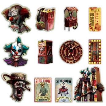 Imagens de Troquelados circo siniestro (12)