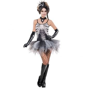 Imagens de Disfraz esqueleto tutú. Talla M