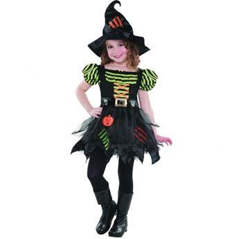 Imagens de Disfraz bruja calabaza 4-6 años