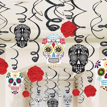 Imagen de Decorados espirales día de los muertos (30)