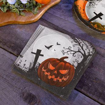 Imagen de Servilletas Halloween cementerio (20)