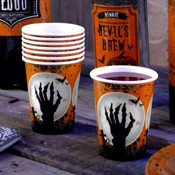 Picture of Vasos Halloween cementerio (8)