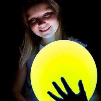 Imagen de Globos amarillos con luz (5)