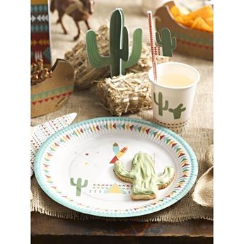 Picture of Platos fiesta indios maxi pack(12)