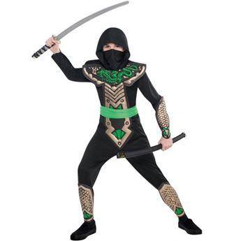 Imagen de Disfraz ninja dragón (4 a 6 años)