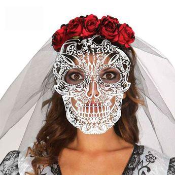 Imagens de Diadema con velo Día de los Muertos