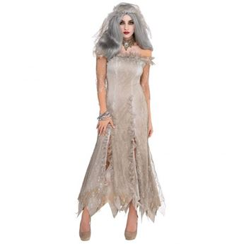 Imagen de Disfraz novia zombie. Talla M/L