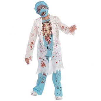 Imagen de Disfraz Zombie médico. Talla 8 a 10 años