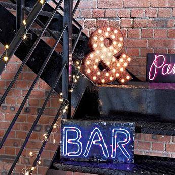 Imagens de Letrero Bar con luz