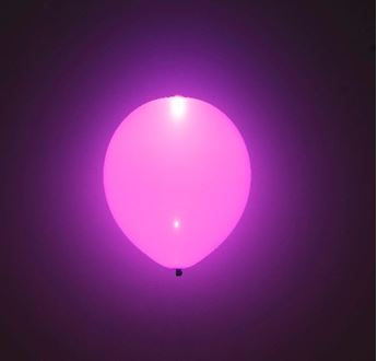 Picture of Globos morados con luz (5)