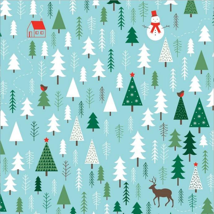 De navidad con papel cmo hacer un rbol de navidad de - Papel de regalo navidad ...