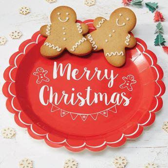 Imagen de Platos Navidad retro (8)