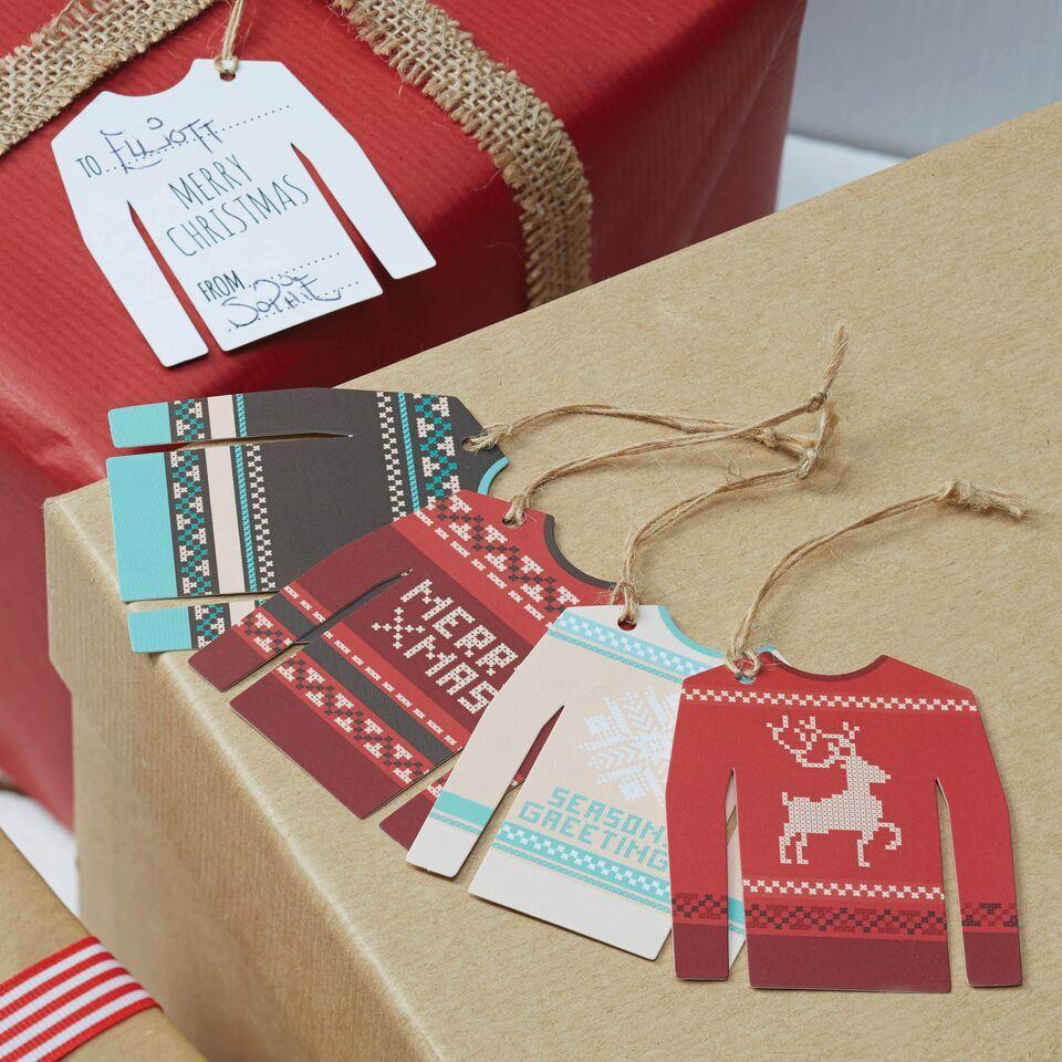 etiquetas regalo navidad divertidas