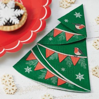 Imagens de Servilletas Navidad retro (12)