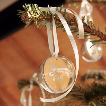 Imagen de Decorado burbuja transparente 8cm