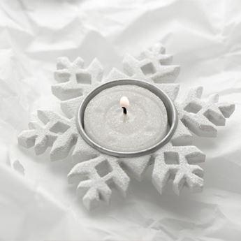 Imagen de Porta vela copo de nieve