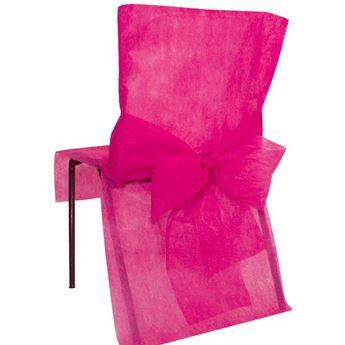 Picture of Fundas silla fucsia (4)