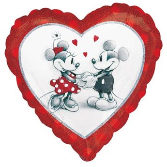 Picture of Globo corazón Mickey & Minnie