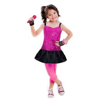 Imagen de Disfraz pop star con accesorios. Talla 3 a 6 años