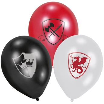 Picture of Globos Caballero medieval (6)