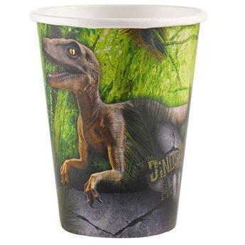Imagen de Vasos dinosaurio Jurásico (8)