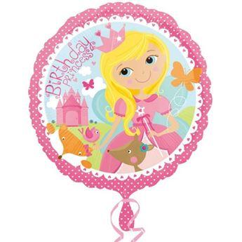 Imagen de Globo princesa Happy birthday