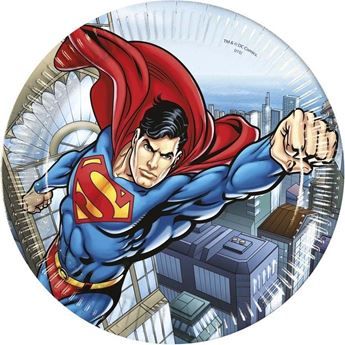 Imagen de Platos Superman (8)