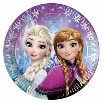 Imagen de Platos fiesta Frozen grandes (8)