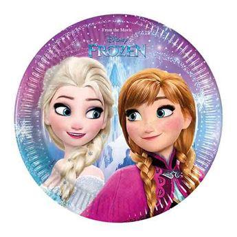 Imagen de Platos fiesta Frozen pequeños (8)