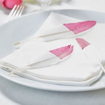 Imagen de Plumas boho rosa (10)