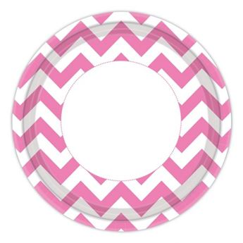 Picture of Platos chevron fucsia (8)