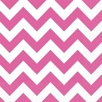 Picture of Servilletas chevron fucsia (20)