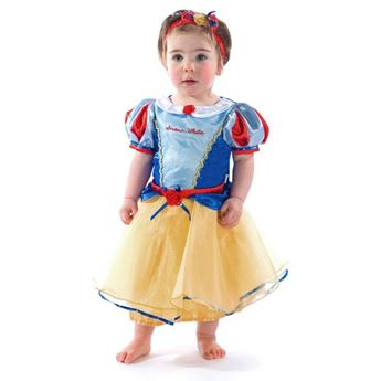 Imagens de Disfraz Blancanieves lujo bebé talla 18-24 meses