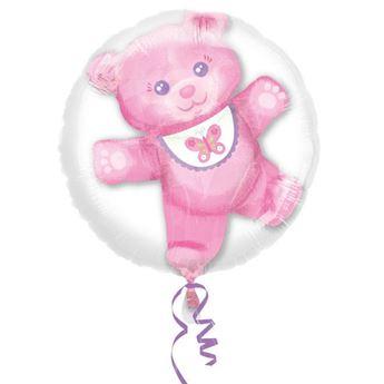 Imagen de Globo oso sorpresa rosa insider