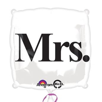 Picture of Globo Mrs. boda